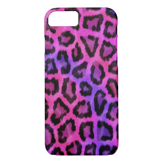 Fashionable Pink Leopard Pattern iPhone 8/7 Case