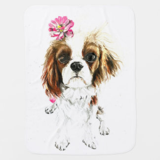 Fashionable Pooch Baby Blanket