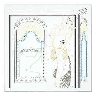 Fashionable Post Card, Note Card or Invitation.