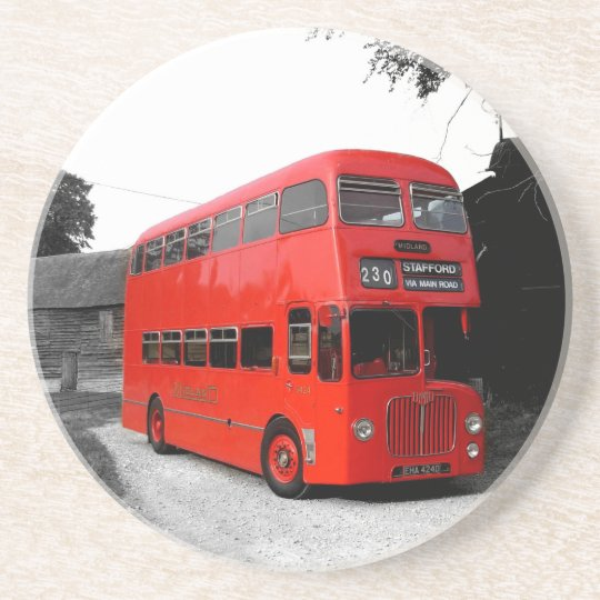 Fashionable Red London Bus Routemaster Britain Coaster