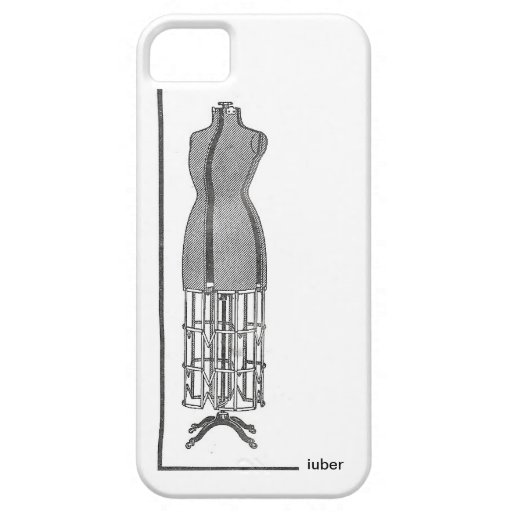Fashionable Steampunk Dress Stand 1920s iPhone 5 Case