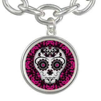 Fashionable sugar skull