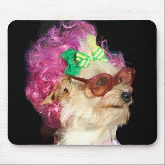 Fashionable Toy Mix Dog mousepad