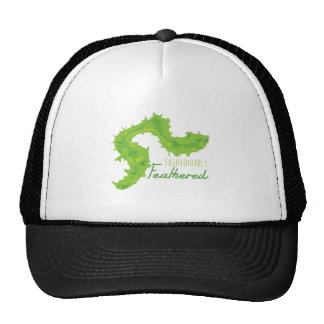 Fashionably Feathered Hat
