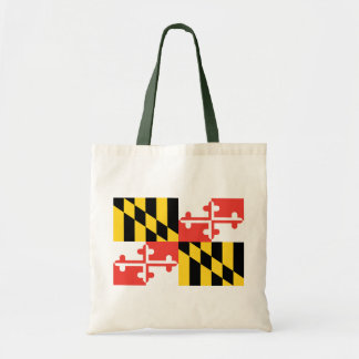 Fashionably Green Maryland State Flag