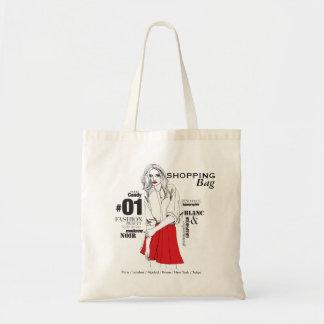 Fashionista #2 budget tote bag