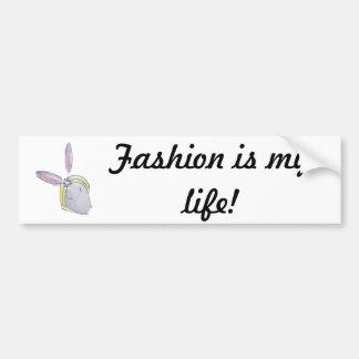 fashionista bumper sticker