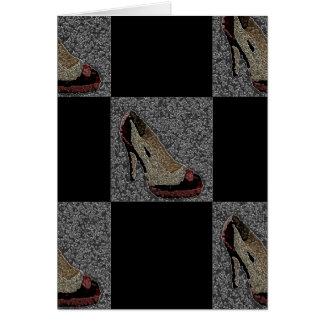 Fashionista High Heels Greeting Card