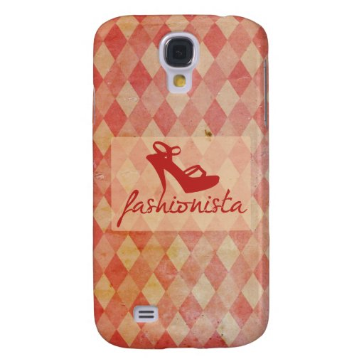 Fashionista Vintage Pattern Galaxy S4 Covers