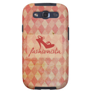 Fashionista Vintage Pattern Galaxy S3 Case