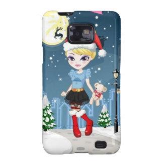 Fashionista xmas1 Samsung Galaxy SII Case