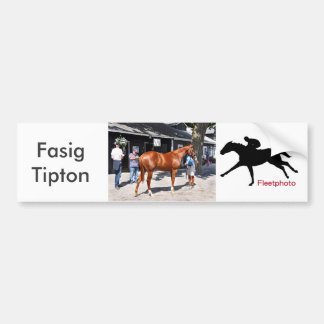Fasig Tipton Yearling Sales Bumper Sticker