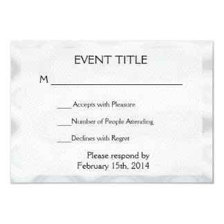 Fast and Easy Blank Template 9 Cm X 13 Cm Invitation Card