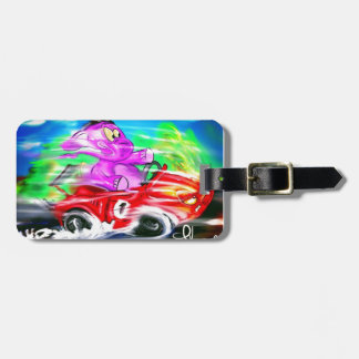 Fast and the Elephant Luggage Tag