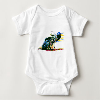 Fast Awesome Speedway Motorcycle Baby Bodysuit