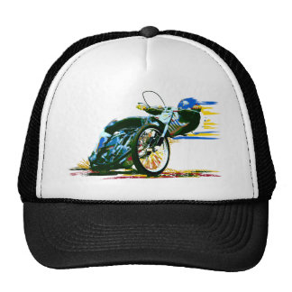 Fast Awesome Speedway Motorcycle Cap