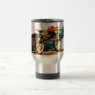 Fast Awesome Speedway Motorcycle Stainless Steel Travel Mug