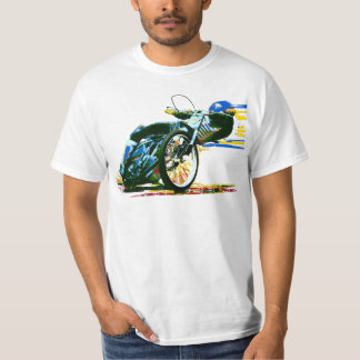 Fast Awesome Speedway Motorcycle T Shirts