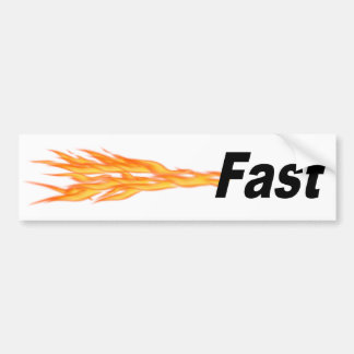 Fast Car Bumper Sticker