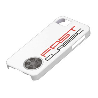 Fast classic car: Fuchs racing car wheel iPhone 5 Covers