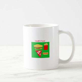 Fast Food Basic White Mug