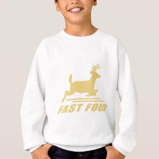 Fast Food Deer Sweatshirt