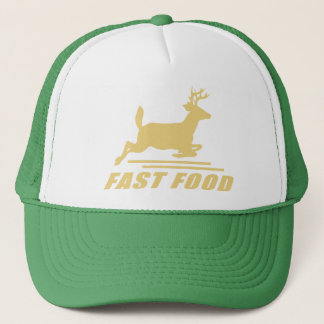 Fast Food Deer Trucker Hat