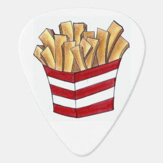 Fast Food Foodie French Fry Fries Guitar Pick