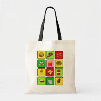 Fast Food Junkie bag - choose style & color