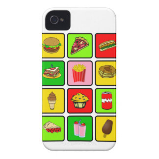 Fast Food Junkie Blackberry Bold case