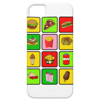Fast Food Junkie iPhone 5 case-mate