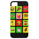 Fast Food Junkie iPhone case-mate Barely There iPhone 5 Case