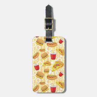 Fast Food Luggage Tag