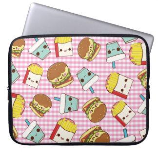 Fast Food Minis Laptop Computer Sleeve