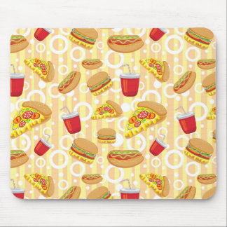 Fast Food Mouse Mat