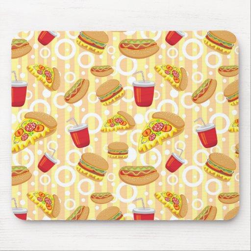 Fast Food Mousepads