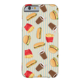 Fast Food Pattern 2 Barely There iPhone 6 Case