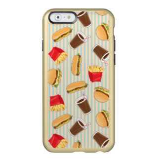 Fast Food Pattern 2 Incipio Feather® Shine iPhone 6 Case