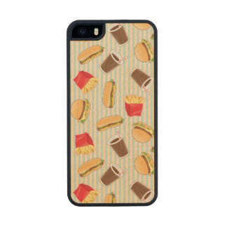 Fast Food Pattern 2 iPhone 6 Plus Case