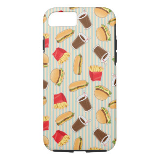 Fast Food Pattern 2 iPhone 7 Case