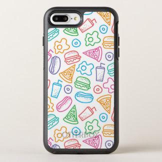 Fast food pattern 2 OtterBox symmetry iPhone 8 plus/7 plus case