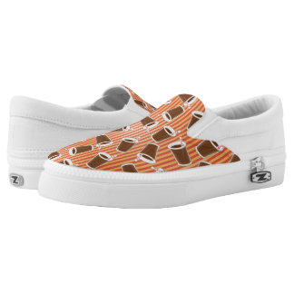 Fast food pattern 2 Slip-On shoes