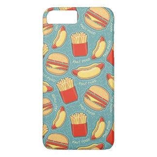 Fast Food Pattern 3 iPhone 8 Plus/7 Plus Case