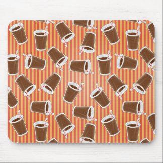 Fast food pattern mousepads