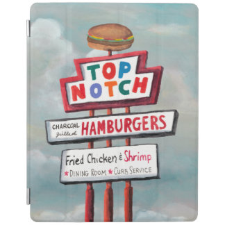 Fast Food Sign iPad Cover
