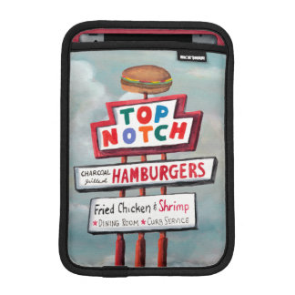 Fast Food Sign iPad Mini Sleeve