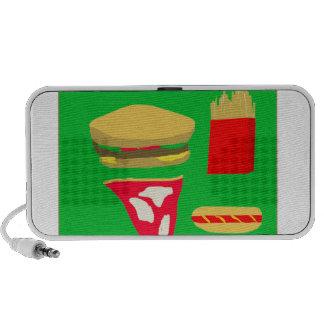 Fast Food iPod Speakers