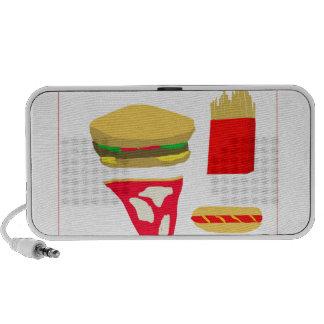 Fast Food Travelling Speakers