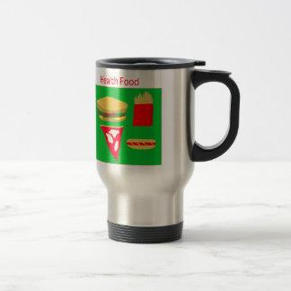 Fast Food Stainless Steel Travel Mug