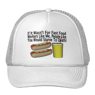 Fast Food Worker Cap